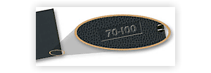 Embossed Product Number